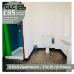 GLC Bunkhouse - 85pp Francis St bathroom