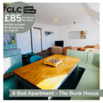 GLC Bunkhouse - 85pp Francis St chill