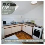 GLC Bunkhouse - 85pp Francis St kitchen