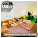 GLC Bunkhouse - 85pp Francis St living